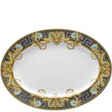Versace Bleu Prestige Gala Platter 15 3/4 Inch, MPN: 19325-403638-12740, UPC: 790955989283