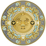 Versace Bleu Prestige Gala Service Plate 13 Inch, MPN: 10450-403638-10263, UPC: 790955989139