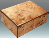 Tizo Natural Burl Wood Box MPN: NCO300BX