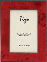 Tizo Pure Red Wooden Picture Frame 3 x 3 Inch MPN: 340RED-33