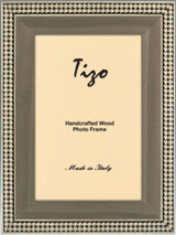 Tizo Gray Goldy Border Wooden Picture Frame 8 x 10 Inch MPN: LIS/GRY-80