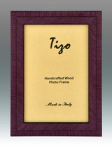 Tizo Purple Lovers Wood Picture Frame 5 x 7 Inch MPN: BIA20PU-57, MPN: BIA20PU-57