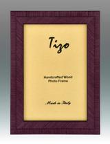 Tizo Purple Lovers Wood Picture Frame 5 x 7 Inch MPN: BIA20PU-57, MPN: BIA20PU-57