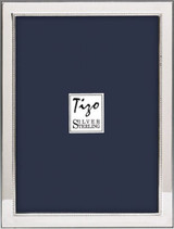 Tizo Simple Beads Sterling Silver Picture Frame 4 x 6 Inch Double Inch MPN: 1930-D46
