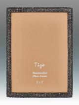 Tizo Shamoo Jeweled Black Picture Frame 5 x 7 Inch MPN: RS710BK-57, MPN: RS710BK-57