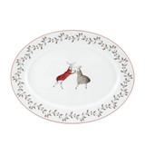 Vista Alegre Noel Medium Oval Platter MPN: 21126883 EAN: N/A