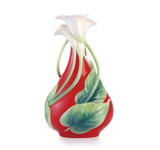 Franz Porcelain Vase Calla Lily MPN: FZ03359 UPC: 817714014120