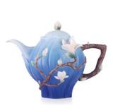 Franz Porcelain Teapot Magnolia MPN: FZ03465 UPC: 817714014779