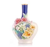 Franz Porcelain Vase A Riot Of Color MPN: FZ03512 UPC: 817714015127