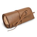 Tan Leather Tie Jewelry Roll MPN: GM17735