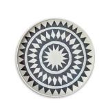 L'Objet Tribal Diamond Round Platter Medium MPN: TR102