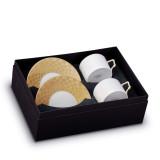 L'Objet Byzanteum Tea Cup Saucer (Box Of 2) - Or MPN: BZ253