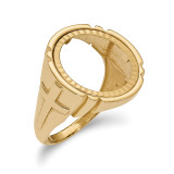1/10AE Diamond -cut Coin Ring 14k Gold MPN: CR10D/10AE