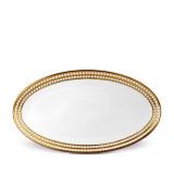 L'Objet Perlee Oval Platter Large - Gold MPN: PR266