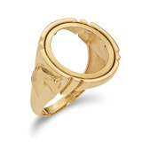 1/10AE Polished Coin Ring 14k Gold MPN: CR5/10AE