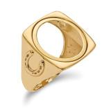 1/10AE Diamond -cut Coin Ring 14k Gold MPN: CR7D/10AE