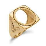 1/10AE Diamond -cut Coin Ring 14k Gold MPN: CR8D/10AE