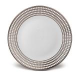 L'Objet Perlee Round Platter - Platinum MPN: PR370