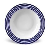 L'Objet Perlee Rimmed Serving Bowl - Bleu MPN: PR496