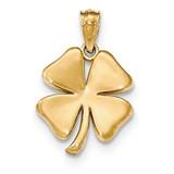 4 Leaf Clover Pendant 14k Gold Polished MPN: K5267 UPC: 886774617145