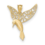Hummingbird Pendant 14k Gold Polished MPN: K5321 UPC: 191101457081