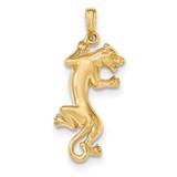 Panther Pendant 14k Gold Polished MPN: K5338 UPC: 637218163120