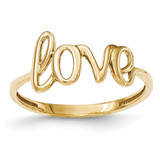 Love Ring 14k Gold Polished MPN: K5742 UPC: 886774570426