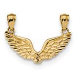 Break Apart Angel Wings Pendant 14k Gold Polished MPN: K5883