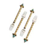 L'Objet Venise Cutlery Cocktail Forks (Set Of 4) MPN: CU38