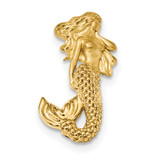 Satin Diamond -cut Mermaid Chain Slide 14k Gold Polished MPN: K6046