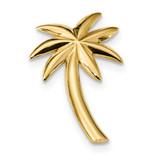 Palm Tree Slide 14k Gold Polished MPN: K6082