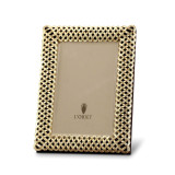 L'Objet Braid Picture Frames 5 X 7 Inch Picture Frame - Gold MPN: F3600M