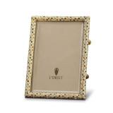 L'Objet Rectangular Pave Picture Frames Gold Multi-Color Crystals 5 X 7 Inch Picture Frame MPN: F6000M