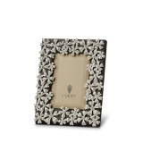 L'Objet Garland Picture Frames 2 X 3 Inch Picture Frame - Platinum White Crystals MPN: F7000XS