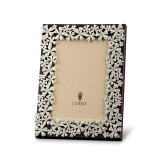 L'Objet Garland Picture Frames 5 X 7 Inch Picture Frame - Platinum White Crystals MPN: F7000M