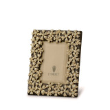 L'Objet Garland Picture Frames 2 X 3 Inch Picture Frame - Gold Yellow Crystals MPN: F7001XS