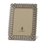L'Objet Decor Noir Picture Frames 8 X 10 Inch Picture Frame - Platinum White Crystals MPN: F8500L