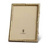 L'Objet Carrousel 8 X 10 Inch Picture Frame - Gold MPN: F3201L
