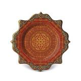 L'Objet Tabriz Dessert Plate Set of 4 9 Inch MPN: TB4133