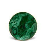 L'Objet Malachite Dessert Plate Set of 4 8 Inch MPN: ML720