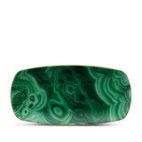 L'Objet Malachite Rectangular Tray Medium 12 x 6 Inch MPN: DAC714