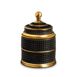 L'Objet Bibliotheque Black Gold Candle 3.5 x 5.5 Inch MPN: C414