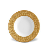 L'Objet Han Soup Plate 9 Inch - Gold MPN: HN230