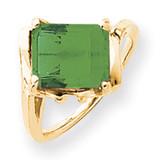 10x8mm Emerald Cut Mount Saint Helens Ring 14k Gold MPN: Y4537MS UPC: 883957437132