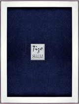 Tizo Solid Plain 5 x 7 Inch Sterling Silver Picture Frame, MPN: 1924-57
