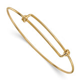 1.65mm Adjustable Bangle Gold-filled MPN: GF5042