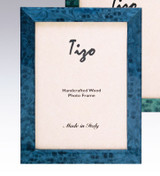 Tizo Bella 4 x 6 Inch Wood Picture Frame - Blue