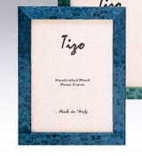 Tizo Bella 4 x 6 Inch Wood Picture Frame - Blue