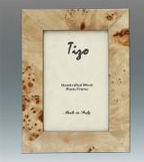 Tizo Ocean 4 x 6 Inch Wood Picture Frame - Tan