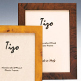 Tizo Patricia 4 x 6 Inch Wood Picture Frame - Brown